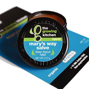 The Growing Kitchen Mary S Way Salve